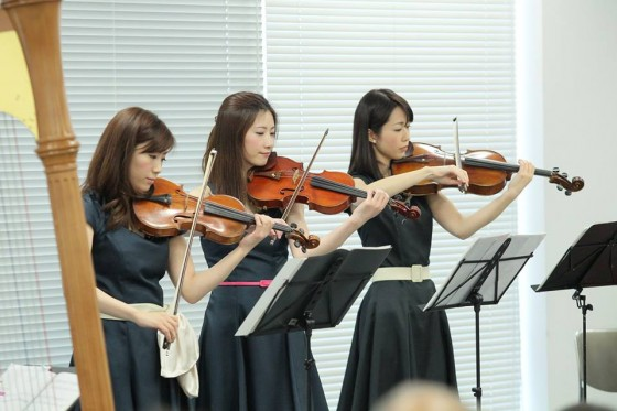 fiola演奏風景